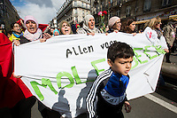 March against terrorism and hate in Brussels - Belgium