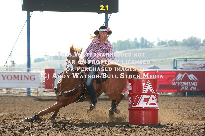 Sam Lenhardt, Cody WY PRCA rodeo, Thursday slack. Photo by Andy Watson. All Photos (C) Watson Rodeo Photos, INC. Must have written Permission for any use.