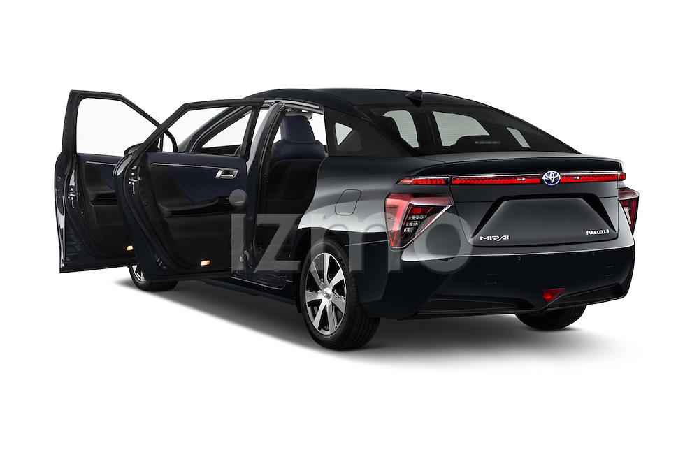 Car images of 2016 Toyota Mirai Mirai 4 Door Sedan Doors