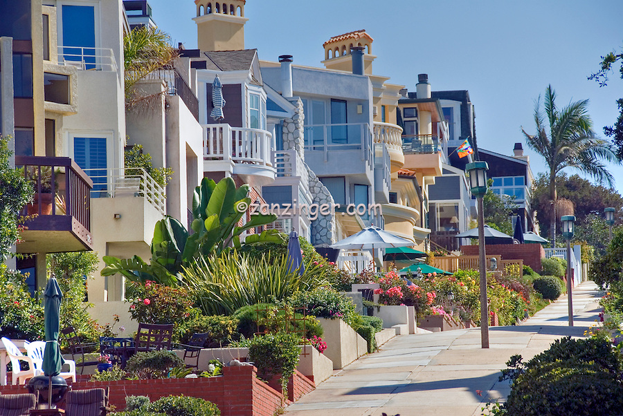 Manhattan Beach, CA, Walk Street to Strand, Hill, Southwestern, Los Angeles County, Santa Monica Bay, , quaint, alleyways, and, walk, streets, of the, Sand Section,
