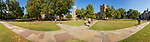 3-row stitch attempt panoramic of abele quad, morning of 9/14/2016