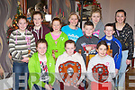 Young footballers that received awards at the Fossa GAA awards in the Old Killarney Inn, Beaufort on Sunday night front row l-r: Elizabeth O'Neill, Erica McGlynn, Orka Dineen. Back row: Sarah O'Neill, Jennifer O'Neill, Ellen Sheehan, Ana Bellew, Sean O'Connor, Claudia Osterloh, Mark McGlynn and Katie Talbot.