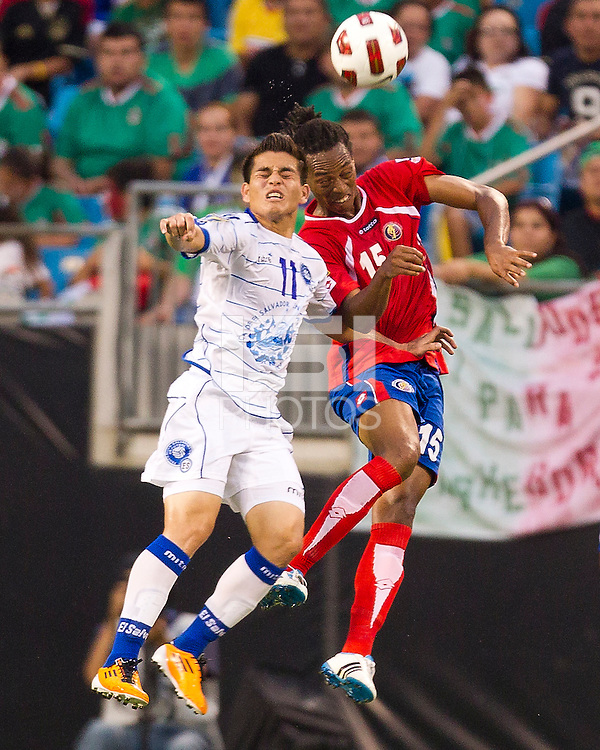 Costa Rica vs El Salvador in the first round of the Concacaf Gold Cup final score was 1-1
