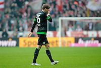 FUSSBALL   1. BUNDESLIGA  SAISON 2012/2013   23. Spieltag  FC Bayern Muenchen - SV Werder Bremen    23.02.2013 Sebastian Proedl (SV Werder Bremen) enttaeuscht nach seiner Roten Karte