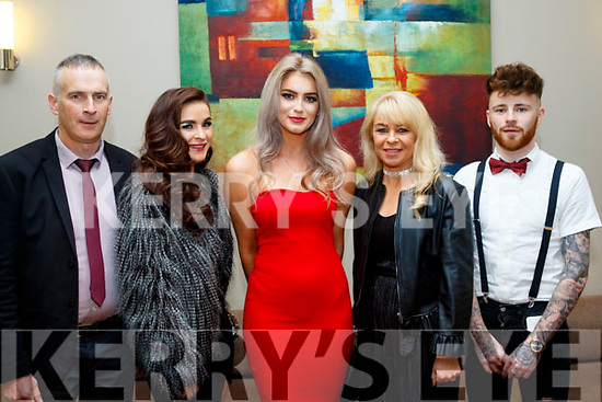 L-R Brendan&Erin Hoare, Rachel McKenna with Margaret&Brandon Hoare at the Castlegregory GAA social