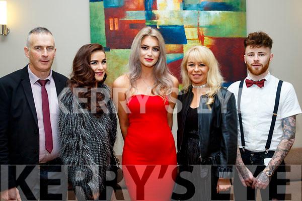 L-R Brendan&Erin Hoare, Rachel McKenna with Margaret&Brandon Hoare at the Castlegregory GAA social