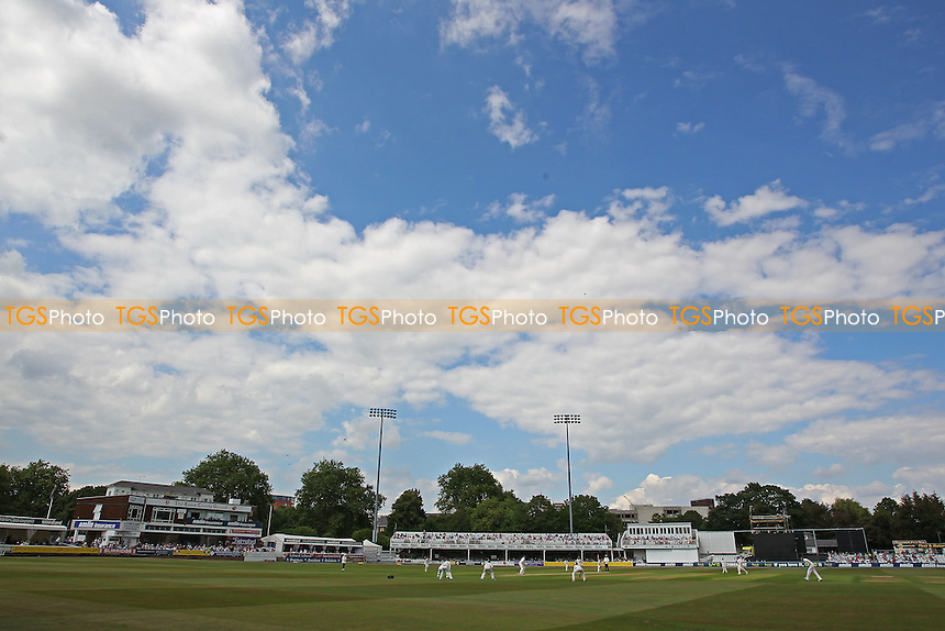 General view of play on day Three - Essex CCC vs Gloucestershire CCC - LV County Championship Division Two Cricket at the Ford County Ground, Chelmsford - 01/07/14 - MANDATORY CREDIT: Gavin Ellis/TGSPHOTO - Self billing applies where appropriate - contact@tgsphoto.co.uk - NO UNPAID USE