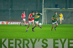 Padraig O'Se Kerry in action with Cork in the Cabury Musster U21 Quarter Final 2014 at Austin Stack Park Tralee on Wednesday night.