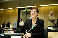 Berlin, Die Ministerpräsidentin im Saarland, Annegret Kramp-Karrenbauer (CDU) am Freitag (07.06.13) im Bundesrat. Foto: Steffi Loos/CommonLens