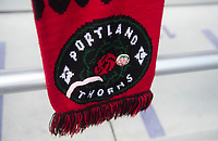Orlando, FL - Saturday October 14, 2017: Portland Thorns during the NWSL Championship match between the North Carolina Courage and the Portland Thorns FC at Orlando City Stadium.   The Portland Thorns won the championship, 1-0.