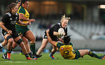 Kendra Cocksedge. Black Ferns v Wallaroos, Eden Park, Auckland, Saturday 17 August 2019. Photo: Simon Watts/www.bwmedia.co.nz