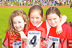 Mairead Spaight, Alannah Brent, Kathleen Kennedy Tarbert at the Denny County Community Games in An Riocht Castleisland on Sunday   Copyright Kerry's Eye 2008