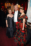 Lynn Guggolz with Don and Ann Short at the Houston Grand Opera Ball at the Wortham Theater Saturday  April 05,2008. (Dave Rossman/For the Chronicle)