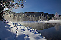 Winter, Snake River, Grand Teton National Park