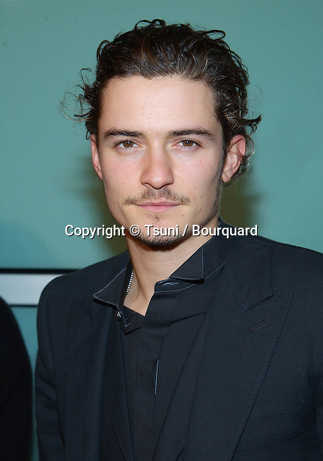 "Orlando Bloom arriving at The premiere of ""The Lord Of The Rings: The Two Towers"" at the Cineramadome Theatre in Los Angeles. December 15, 2002."