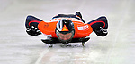 17 December 2010: Martins Dukurs sliding for Latvia, finishes in 2nd place at the Viessmann FIBT Skeleton World Cup Championships in Lake Placid, New York, USA. Mandatory Credit: Ed Wolfstein Photo