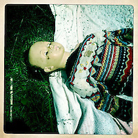 A doll laying in debris at Horseshoe Lake Motel in Olive Branch, Ill., on May 21, 2011.