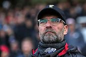 17th March 2019, Craven Cottage, London, England; EPL Premier League football, Fulham versus Liverpool; Liverpool Manager Jurgen Klopp