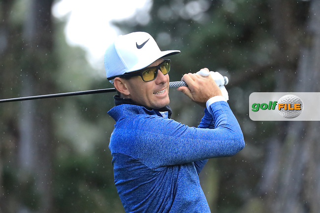 Dylan Frittelli (RSA) in action at Spyglass Hill Golf Course during the third round of the AT&amp;T Pro-Am, Pebble Beach Golf Links, Monterey, USA. 09/02/2019<br /> Picture: Golffile | Phil Inglis<br /> <br /> <br /> All photo usage must carry mandatory copyright credit (&copy; Golffile | Phil Inglis)