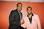 """As The World Turns' & AMC actor Lamman Rucker stars with Anthony Montgomery - now on General Hospital as """"Andre Maddox"""" starting Nov. 6, 2015 and (Star Trek) in The Man in 3B with its premier on September 25, 2015 at the 19th Annual Urbanworld Film Festival in New York City, New York.  (Photo by Sue Coflin/Max Photos)"""