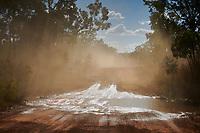 A small creek crossing the Gibb River Road, on the way from Kununurra to Kalumburu.