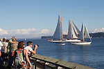 Port Townsend, Wooden Boat Festival, Port Hudson Marina, classic yachts, Washington State, Pacific Northwest, USA,