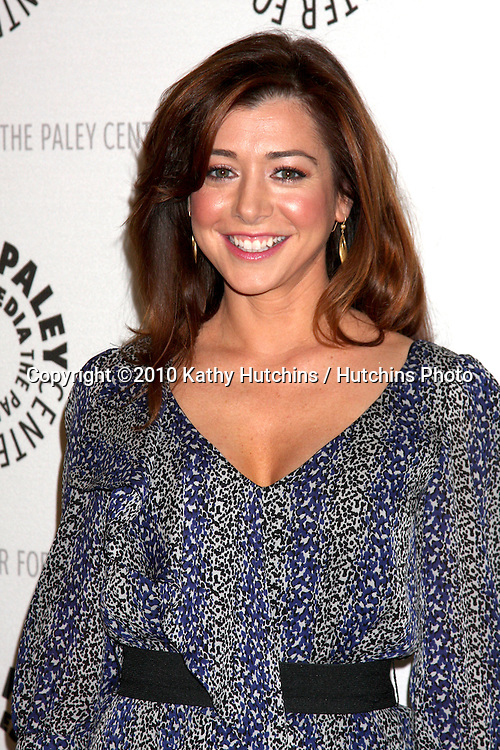 "Alyson Hannigan.arriving at the  ""How I Met Your Mother"" 100th Episode Celebration .Paley Center for Media.Beverly Hills, CA.January 7, 2010.©2010 Kathy Hutchins / Hutchins Photo."