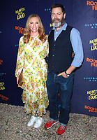 NEW YORK, NY - JUNE 6: Toni Collette and Nick Offerman at the New York Premiere of Rooftop Films' Hearts Beat Loud at Pioneer Works in Brooklyn, New York City on June 6, 2018. <br /> CAP/MPI99<br /> &copy;MPI99/Capital Pictures