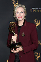 LOS ANGELES - SEP 9:  Jane Lynch at the 2017 Creative Emmy Awards at the Microsoft Theater on September 9, 2017 in Los Angeles, CA