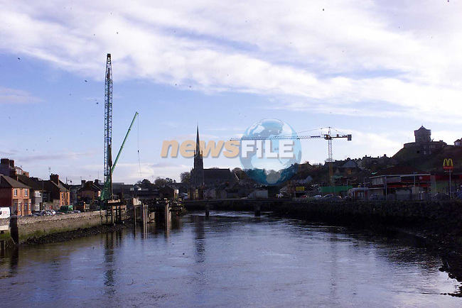 New Bridge in Drogheda 3.Pic Fran Caffrey Newsfile