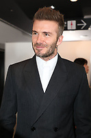 David  Beckham in the front row<br /> Dior Homme show, Front Row, Pre Fall 2019, Tokyo, Japan - 30 Nov 2018.<br /> CAP/SAT<br /> &copy;Satomi Kokubun/Capital Pictures