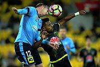 170408 A-League Football - Wellington Phoenix v Sydney FC