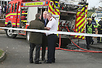 Mayor of Drogheda, Frank Maher at the house fire in Moneymore, Drogheda that claimed the lives of three people leaving another in a critical condition with 60% burns...Photo NEWSFILE/Jenny Matthews.(Photo credit should read Jenny Matthews/NEWSFILE)....This Picture has been sent you under the condtions enclosed by:.Newsfile Ltd..The Studio,.Millmount Abbey,.Drogheda,.Co Meath..Ireland..Tel: +353(0)41-9871240.Fax: +353(0)41-9871260.GSM: +353(0)86-2500958.email: pictures@newsfile.ie.www.newsfile.ie.FTP: 193.120.102.198.