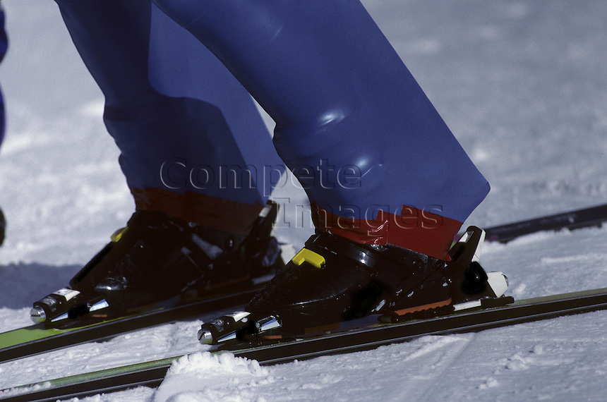 Competitive skier
