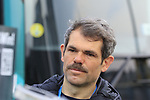 Ralph Denk Team Manager Bora-Hansgrohe at the team presentation in Antwerp before the start of the 2019 Ronde Van Vlaanderen 270km from Antwerp to Oudenaarde, Belgium. 7th April 2019.<br /> Picture: Eoin Clarke | Cyclefile<br /> <br /> All photos usage must carry mandatory copyright credit (&copy; Cyclefile | Eoin Clarke)