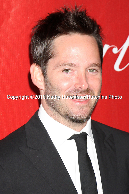 Scott Cooper.arriving at the 2010 Palm Springs Film Festival Awards Gala.Palm Springs Convention Center.January 5, 2010.©2010 Kathy Hutchins / Hutchins Photo.