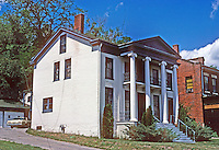 Galena: Greek Revival House. Photo '77.