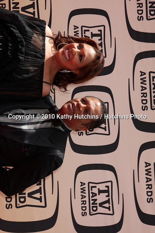Telma Hopkins & Ted Lange.arrives at the 2010 TV Land Awards.Sony Studios.Culver City, CA.April 17, 2010.©2010 Kathy Hutchins / Hutchins Photo...