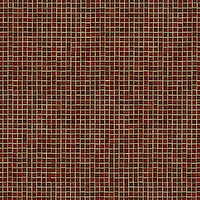 Gridded 1.5cm, a hand-cut jewel glass mosaic, shown in Garnet.