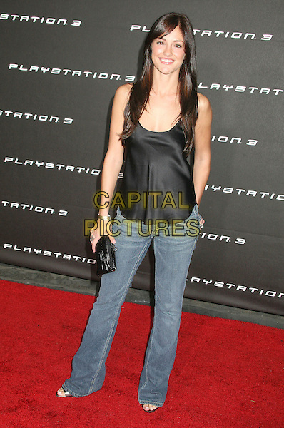 "MINKA KELLY.""Playstation 3"" Launch Party held at a private location in Beverly Hills, California, USA, 08 November 2006..full length black top jeans.Ref: ADM/BP.www.capitalpictures.com.sales@capitalpictures.com.©Byron Purvis/AdMedia/Capital Pictures. *** Local Caption *** ."