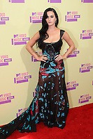LOS ANGELES, CA - SEPTEMBER 06: Katy Perry at the 2012 MTV Video Music Awards at The Staples Center on September 6, 2012 in Los Angeles, California. &copy;&nbsp;mpi28/MediaPunch inc. /NortePhoto.com<br />