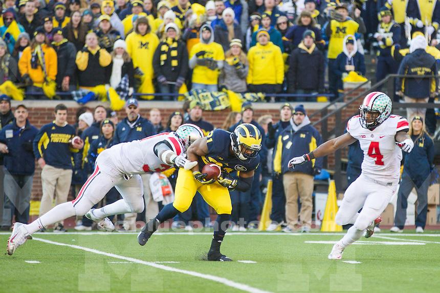 The University of Michigan football played Ohio State University on Saturday, Nov. 30, 2013 at Michigan Stadium in Ann Arbor, Michigan.