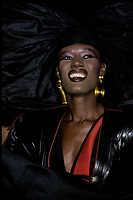 Undated File Photo - Circa 1987- Grace Jones