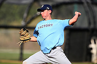 December 30, 2009:  Robert Hughes (13) of the Baseball Factory Tar Heels team during the Pirate City Baseball Camp & Tournament at Pirate City in Bradenton, FL.  Photo By Mike Janes/Four Seam Images