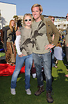 "Kristen Bell & Jason Russell  at The Invisible Children's ""THE RESCUE"" Rally at City Hall in Santa Monica, California on April 25,2009                                                                     Copyright 2009 DVS / RockinExposures"