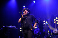 LONDON, ENGLAND - APRIL 13: Nathaniel Rateliff of 'Nathaniel Rateliff &amp; the Night Sweats' performing at Shepherd's Bush Empire on April 13, 2018 in London, England.<br /> CAP/MAR<br /> &copy;MAR/Capital Pictures