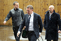 Leicester City manager Brendan Rogers arrives at Turf Moor ahead of kick-off<br /> <br /> Photographer Rich Linley/CameraSport<br /> <br /> The Premier League - Burnley v Leicester City - Saturday 16th March 2019 - Turf Moor - Burnley<br /> <br /> World Copyright © 2019 CameraSport. All rights reserved. 43 Linden Ave. Countesthorpe. Leicester. England. LE8 5PG - Tel: +44 (0) 116 277 4147 - admin@camerasport.com - www.camerasport.com