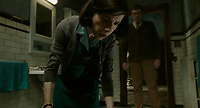 The Shape of Water (2017) <br /> Sally Hawkins and Richard Jenkins<br /> *Filmstill - Editorial Use Only*<br /> CAP/KFS<br /> Image supplied by Capital Pictures
