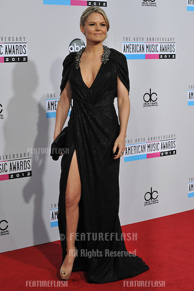 Jennifer Morrison at the 40th Anniversary American Music Awards at the Nokia Theatre LA Live..November 18, 2012  Los Angeles, CA.Picture: Paul Smith / Featureflash