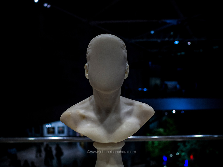 One of the busts by Janine Antoni at the National Gallery of Art, Washington, DC